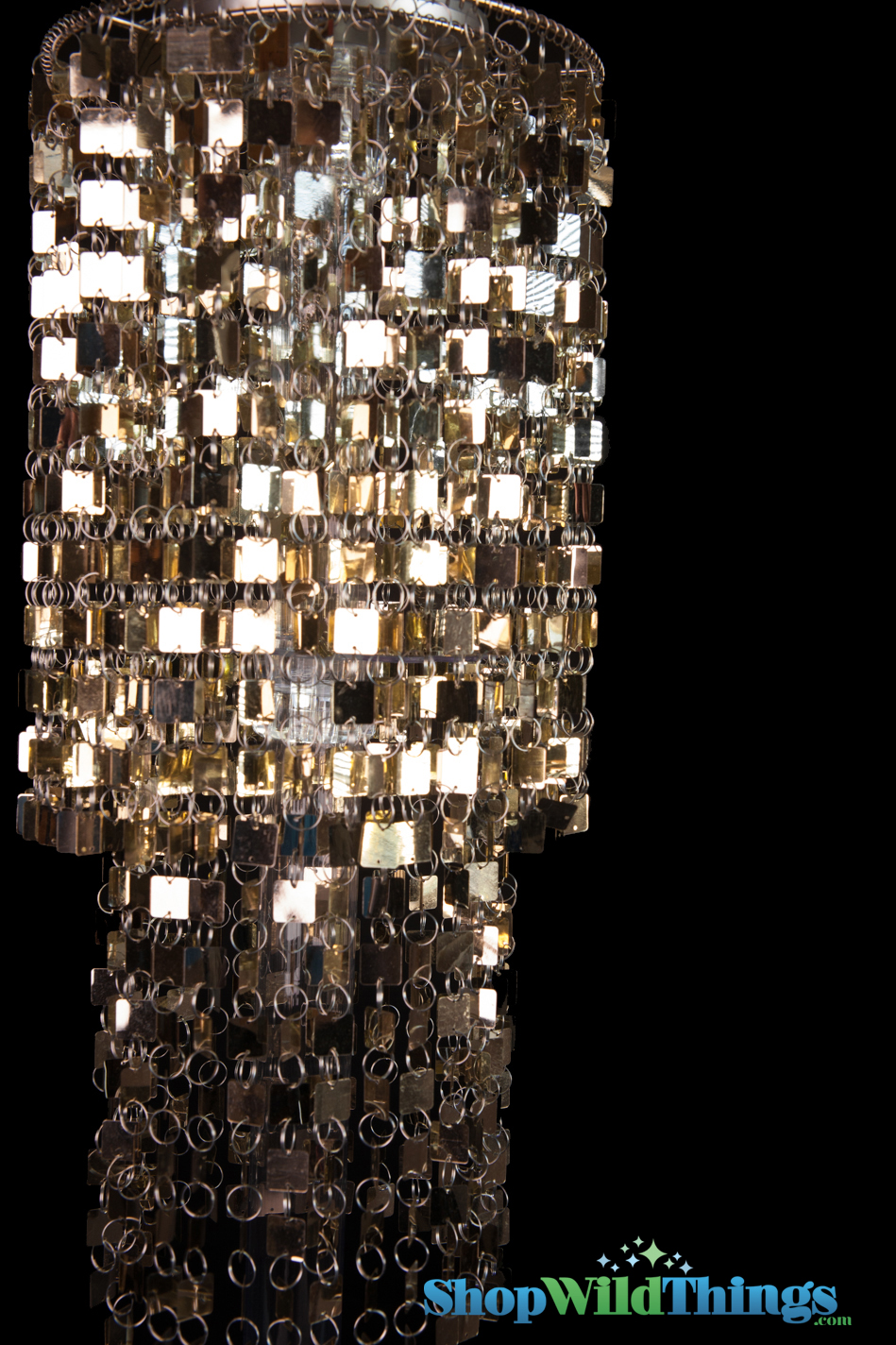 Gold centerpiece display kit chandelier riser