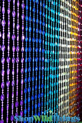 Rainbow Ice Pop Twisted Beads Curtain Home Amp Party Decor