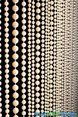 Ivory Pearls Beaded Curtain Home Decor Shopwildthings Com