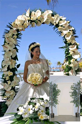 White Metal Wedding Arch Shopwildthings Com