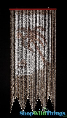 Palm Tree Amp Boat Real Shell Beaded Curtains