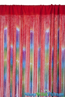 String Curtain Colorful Gypsy Curtains Fringe Curtain