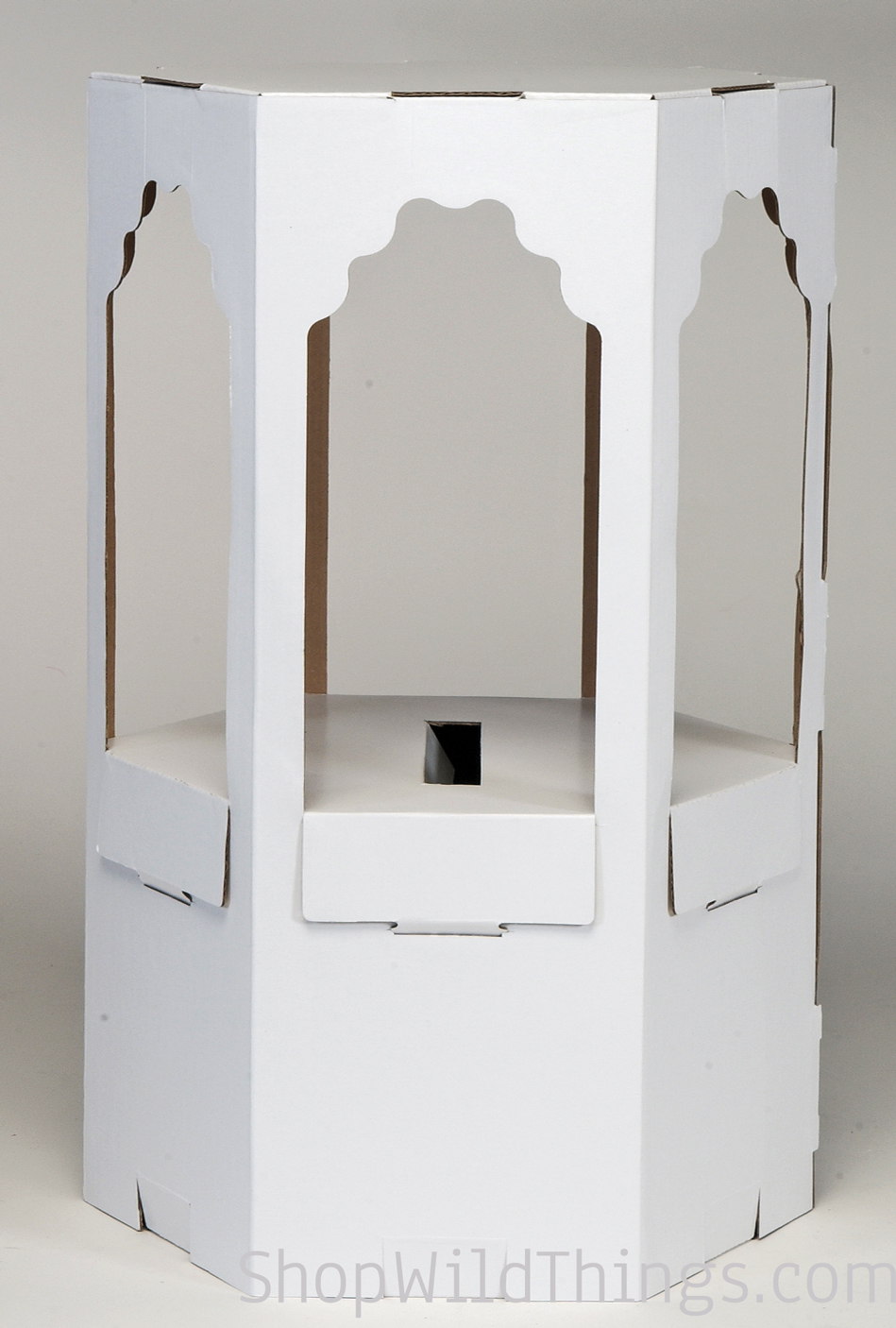 Buy cardboard wishing boxes wishing well decorate for How to decorate a money box