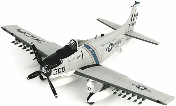 A-1H Skyraider Model, U.S. Navy, VA-52 - Hobby Master HA2912 - click to enlarge