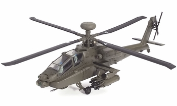 AH-64D Apache Model, US Army, 3rd Infantry Division - Air Force 1 0100 - click to enlarge