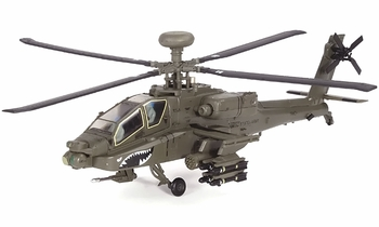 AH-64D Apache Model, US Army, 3rd Infantry Division - Air Force 1 0100A - click to enlarge
