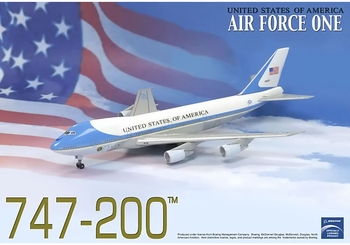 "VC-25A (Boeing 747) ""Air Force One"" Model - Dragon Wings 56200 - click to enlarge"
