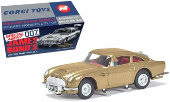 Aston Martin DB5 Model, James Bond: Thunderball - Corgi CC04206G - click to enlarge