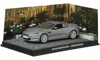 Aston Martin DBS Model, James Bond: Casino Royale   Eaglemoss