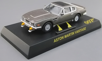 Aston Martin Vantage Model, James Bond: The Living Daylights - Kyosho - click to enlarge