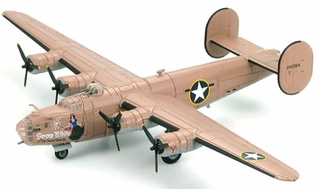 B-24D Liberator Model, USAAF, 343rd BS, 98th BG - Hobby Master HA9100 - click to enlarge