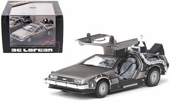 Back to the Future II DeLorean 1:43 Diecast Model - Vitesse - click to enlarge