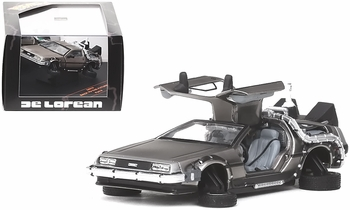 Back to the Future II DeLorean (Flying) 1:43 Diecast Model - Vitesse - click to enlarge