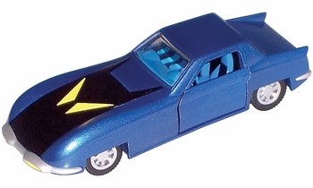 Batman Batmobile Model, 1970s DC Comics - Corgi 1:43 US77315 - click to enlarge