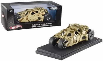 The Dark Knight Rises Camouflage Tumbler 1:18 Diecast - Hot Wheels - click to enlarge