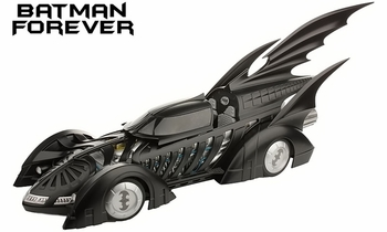 Batman Forever Batmobile 1:18 Diecast Model - Hot Wheels Elite - click to enlarge