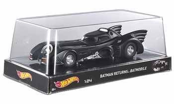 Batman Returns Batmobile 1:24 Diecast Model - Hot Wheels - click to enlarge