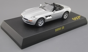 BMW Z8 Model, James Bond: The World Is Not Enough - Kyosho - click to enlarge