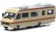 Breaking Bad 1986 Fleetwood Bounder RV Diecast Model - GreenLight