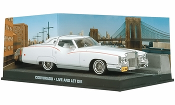 Cadillac Corvorado Model, James Bond: Live and Let Die - Eaglemoss - click to enlarge