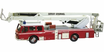 Dennis F125 Simon Snorkel Model, Bedford, England - Corgi AN13009 - click to enlarge
