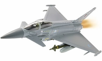 Eurofighter Typhoon Model, RAF, Operation Ellamy, 2011 - Corgi AA36406 - click to enlarge