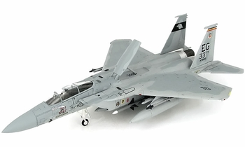F-15C Eagle Model, USAF, 33rd TFW - Hobby Master HA4554 - click to enlarge