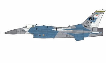 F-16C Fighting Falcon, USAF, 64th AGRS - Hobby Master HA3854 - click to enlarge