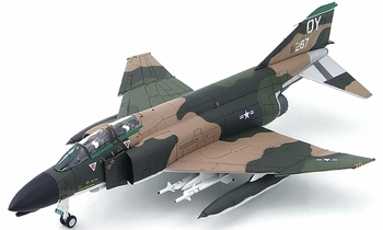 F-4D Phantom II Model (Signed), USAF, 555th FS - Hobby Master HA1946A - click to enlarge