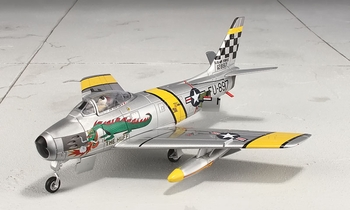 F-86F Sabre Model, USAF, 39th FIS, Korea - Hobby Master HA4301 - click to enlarge