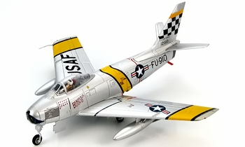 "F-86F Sabre Model, USAF, ""Beauteous Butch II"" - Hobby Master HA4306 - click to enlarge"