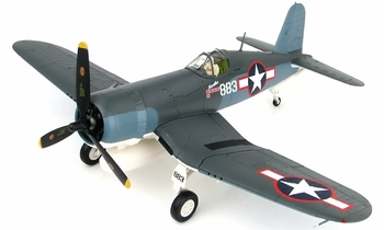 F4U Corsair Model, USMC 1st Lt. Bob McClurg - Hobby Master HA8218 - click to enlarge