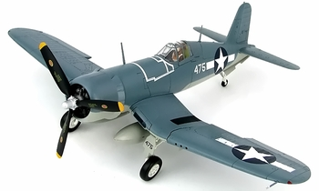 F4U Corsair Model, USMC, VMF-214, John Bolt - Hobby Master HA8216 - click to enlarge