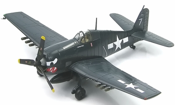 F6F-5 Hellcat Model, US Navy, VF-27 - Hobby Master HA1115 - click to enlarge