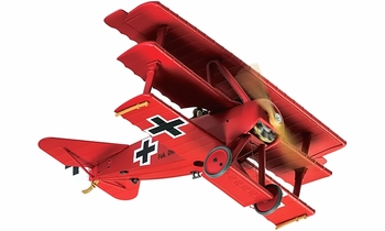 Fokker Dr.I Triplane Model, Manfred von Richthofen - Corgi AA38308 - click to enlarge