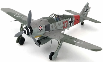 Fw 190 A-7 Model, Luftwaffe, II./JG 1, Heinz B�r - Hobby Master HA7417 - click to enlarge