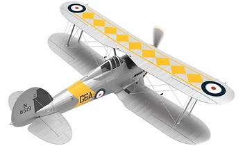 Gloster Sea Gladiator Model, Royal Navy - Corgi AA36211 - click to enlarge