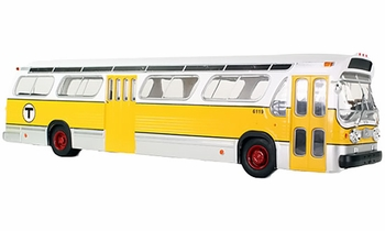 """GM New Look """"Fishbowl"""" Bus Model: Boston - Iconic Replica 43-0062 - click to enlarge"""