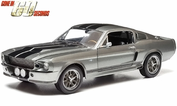 Gone in 60 Seconds (2000) 1967 Mustang 1:18 Diecast Model - GreenLight - click to enlarge