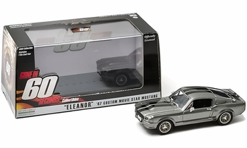 Gone in 60 Seconds (2000) 1967 Mustang 1:43 Diecast Model - GreenLight - click to enlarge