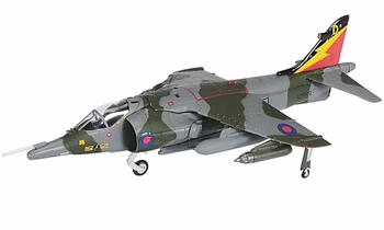 Harrier GR.3 Model, RAF, No. 4 Squadron - Corgi AA32414 - click to enlarge