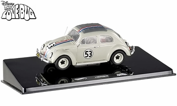 "Herbie ""The Love Bug"" VW Beetle 1:43 Diecast Model - Hot Wheels Elite - click to enlarge"