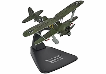 Hs 123 Model, Luftwaffe Training Unit, 1941 - Oxford Diecast AC040 - click to enlarge