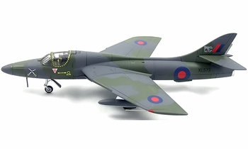 Hunter T.7 Model, RAF, No. 237 OCU - Corgi AA32714 - click to enlarge