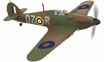 Hurricane Mk.I Model, RAF, Irving Smith - Corgi AA27601 - click to enlarge