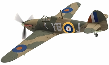 Hurricane Mk.I Model, RAF, No. 17 Squadron - Corgi AA27606 - click to enlarge