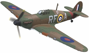 Hurricane Mk.I Model, RAF, No. 303 Polish Squadron - Corgi AA27602 - click to enlarge