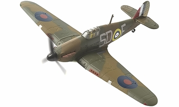 Hurricane Mk.I Model, RAF, 501 Squadron, James Lacey - Corgi AA27603 - click to enlarge