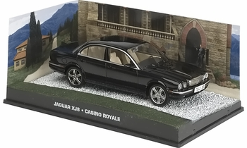 Jaguar XJ8 Model, James Bond: Casino Royale - Eaglemoss - click to enlarge