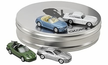 James Bond 4 Car Film Canister Model Set - Corgi TY95903 - click to enlarge